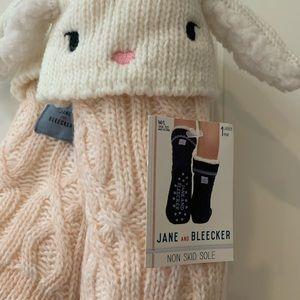 Jane and Bleeker slipper socks